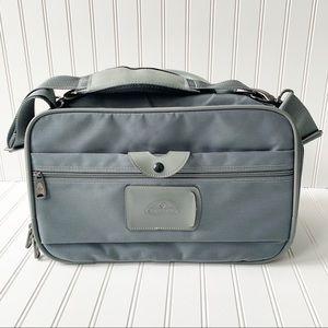 Samsonite slim carryall gray luggage